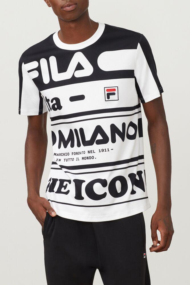 FILA Milano printed cotton tee in webimage-16EDF0C7-89E9-4B76-AF680D327C32E48E