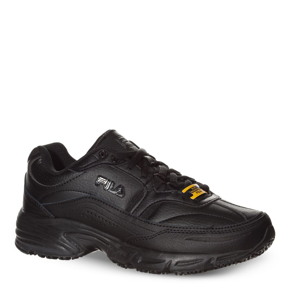Women's Memory Workshift Slip Resistant Wide Width Shoe in webimage-16EDF0C7-89E9-4B76-AF680D327C32E48E