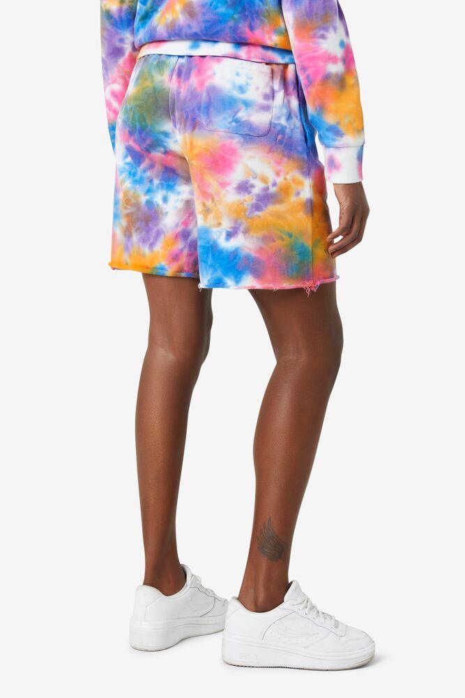 Sloan Tie Dye Shorts in webimage-172437AE-7074-439A-A9FA57C421BB85C8