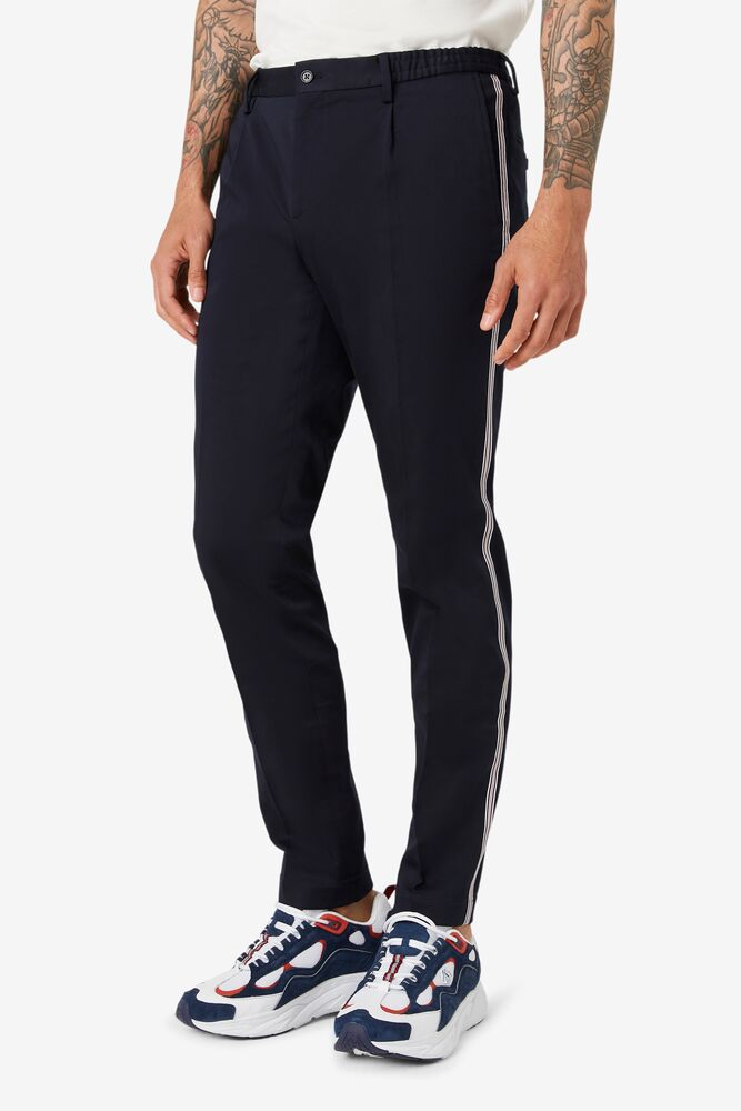 Brooks Brothers x FILA Regent Fit Piped Club Trousers in webimage-C5256F81-5ABE-4040-BEA94D2EA7204183