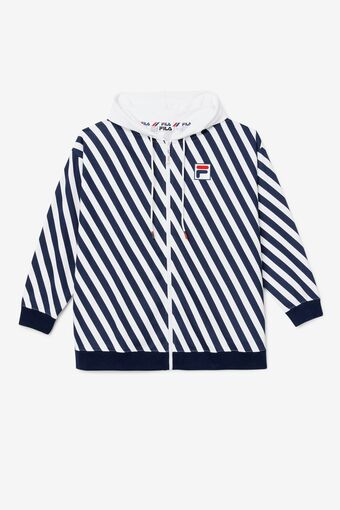 Shore Thing Striped Sweatshirt in webimage-C5256F81-5ABE-4040-BEA94D2EA7204183