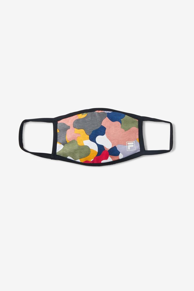 Multicolor Cloth Face Mask FILA.com exclusive in webimage-BC06E6D8-3FDE-41D6-9D6968747BE13F9B