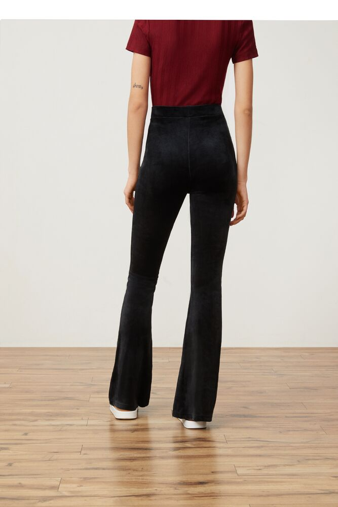 tonia high waisted flared velour pant in webimage-16EDF0C7-89E9-4B76-AF680D327C32E48E