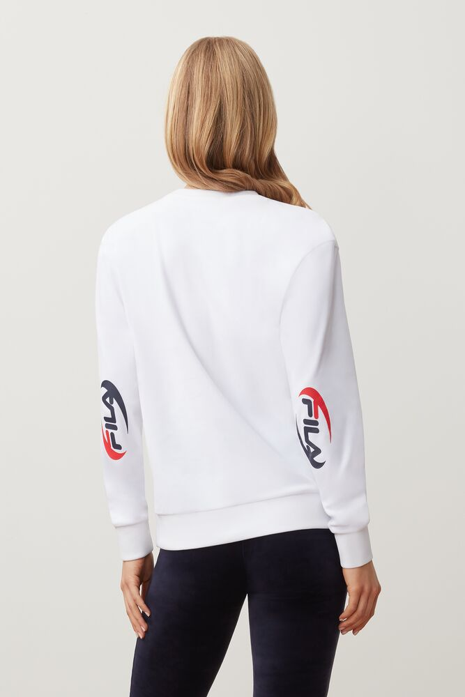 emilia velour sweatshirt in NotAvailable