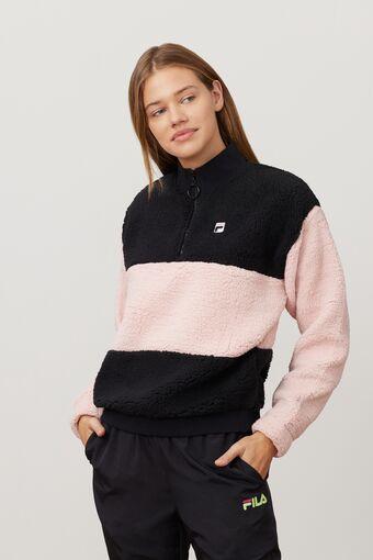 laverne 1/4 zip sweatshirt in webimage-16EDF0C7-89E9-4B76-AF680D327C32E48E
