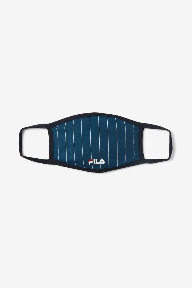 Pin Stripe Cloth Face Mask FILA.com exclusive in webimage-C5256F81-5ABE-4040-BEA94D2EA7204183