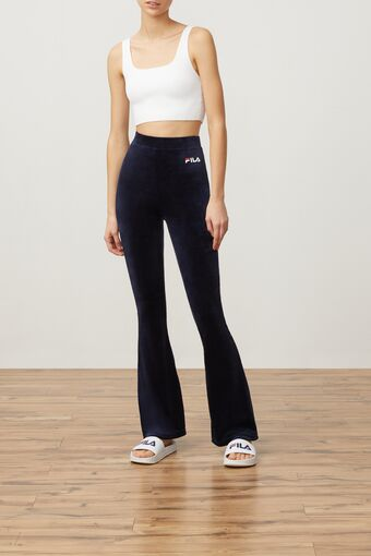 tonia high waisted flared velour pant in webimage-C5256F81-5ABE-4040-BEA94D2EA7204183
