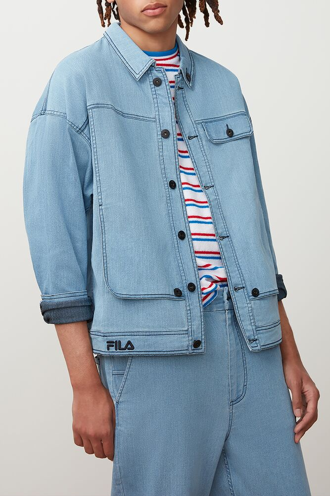 washington denim jacket in NotAvailable