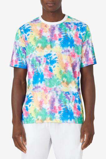 Top Spin Tie Dye Printed Crew in webimage-8A572F80-2532-42C2-9598F832C44DF3F5