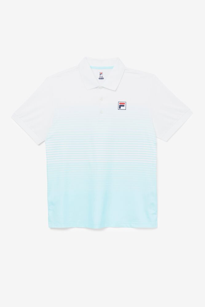 Legends Ombre Stripe Polo in webimage-8A572F80-2532-42C2-9598F832C44DF3F5