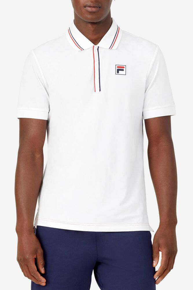 Heritage Tennis Jacquard Polo in webimage-8A572F80-2532-42C2-9598F832C44DF3F5