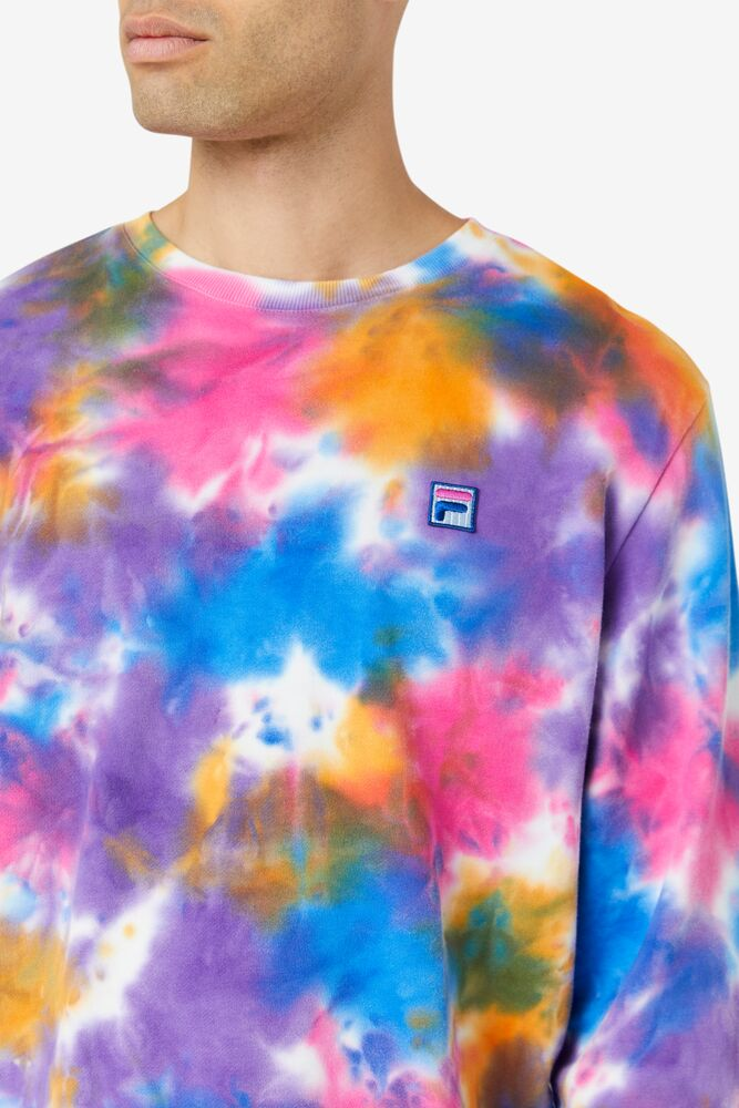 Jamie Tie Dye Crewneck Sweater in webimage-172437AE-7074-439A-A9FA57C421BB85C8