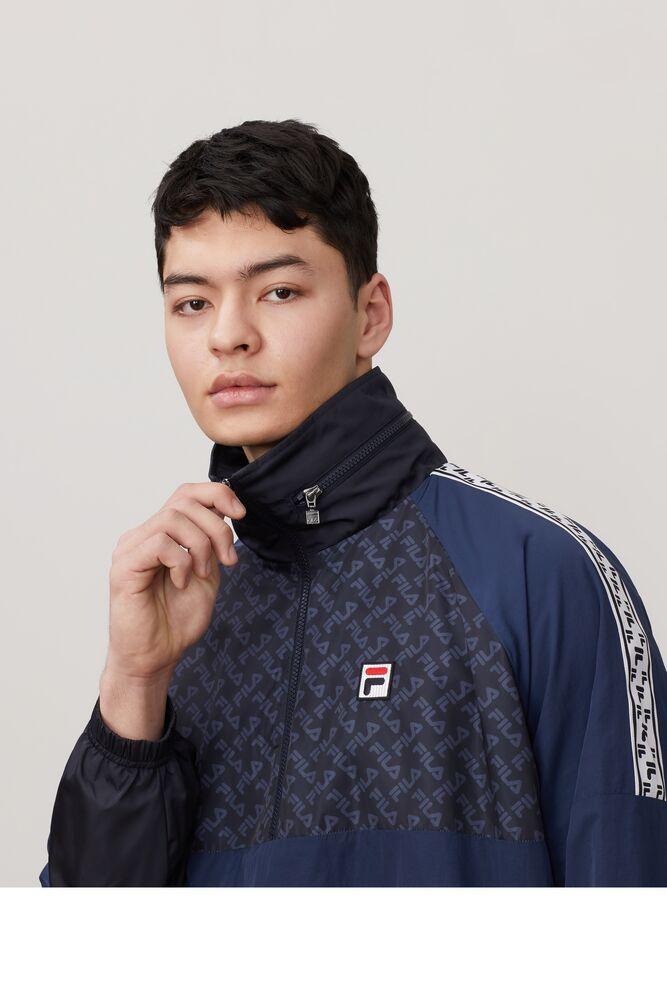 FILA Milano 1/2 zip track jacket in webimage-C5256F81-5ABE-4040-BEA94D2EA7204183