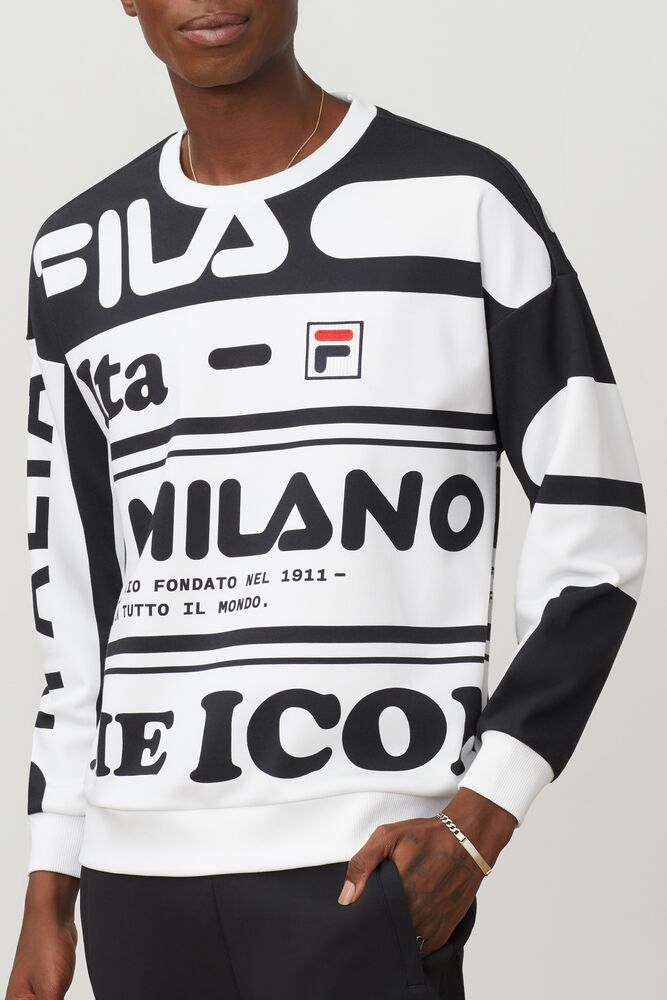 FILA Milano french terry crew in webimage-16EDF0C7-89E9-4B76-AF680D327C32E48E
