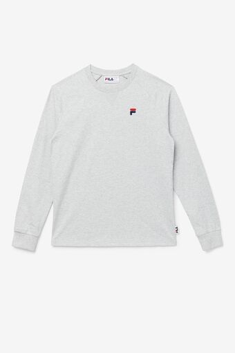 Flynn Long Sleeve Tee in grey