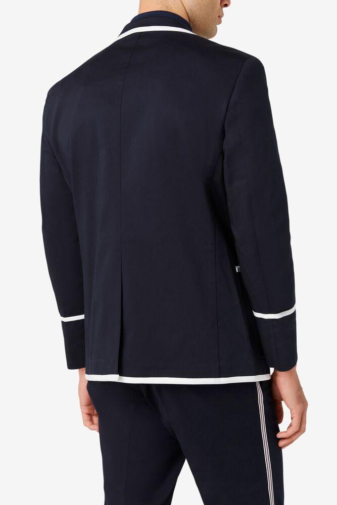 Brooks Brothers x FILA Regent Fit Piped Club Blazer in webimage-C5256F81-5ABE-4040-BEA94D2EA7204183