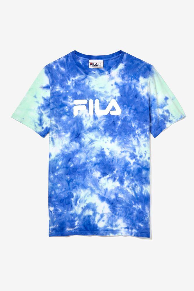 tie dye FILA logo tee in webimage-92CA337A-BE75-448B-8684E36E0F5F98BC