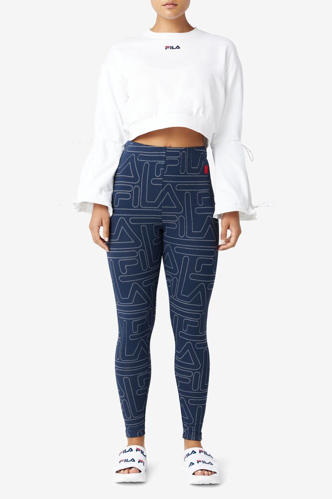Lipi Legging in navy