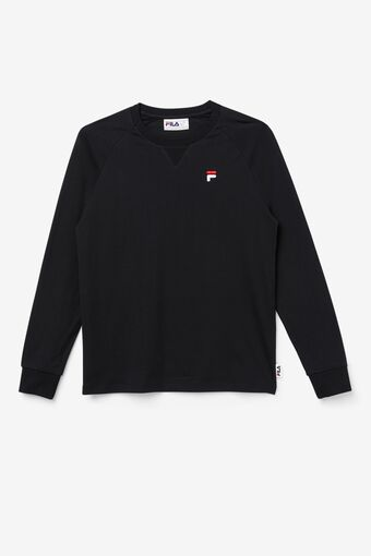 Flynn Long Sleeve Tee in black