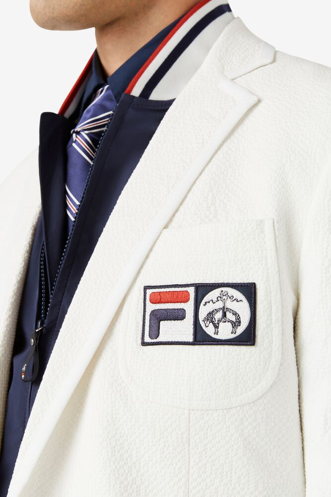 Brooks Brothers x FILA Regent Fit Championship Seersucker Blazer in NotAvailable