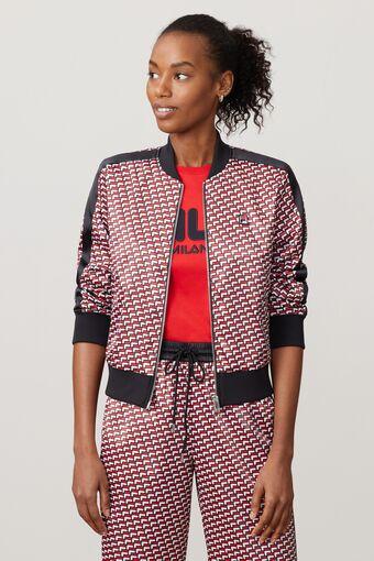 FILA Milano printed woven jacket in webimage-8F0326A2-F58E-4563-86D1C5CA5BC3B430