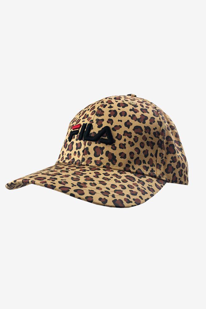 Fila Leopard Print Hat in webimage-04747D3F-6D94-4244-87D4EE83CEBC9AC7