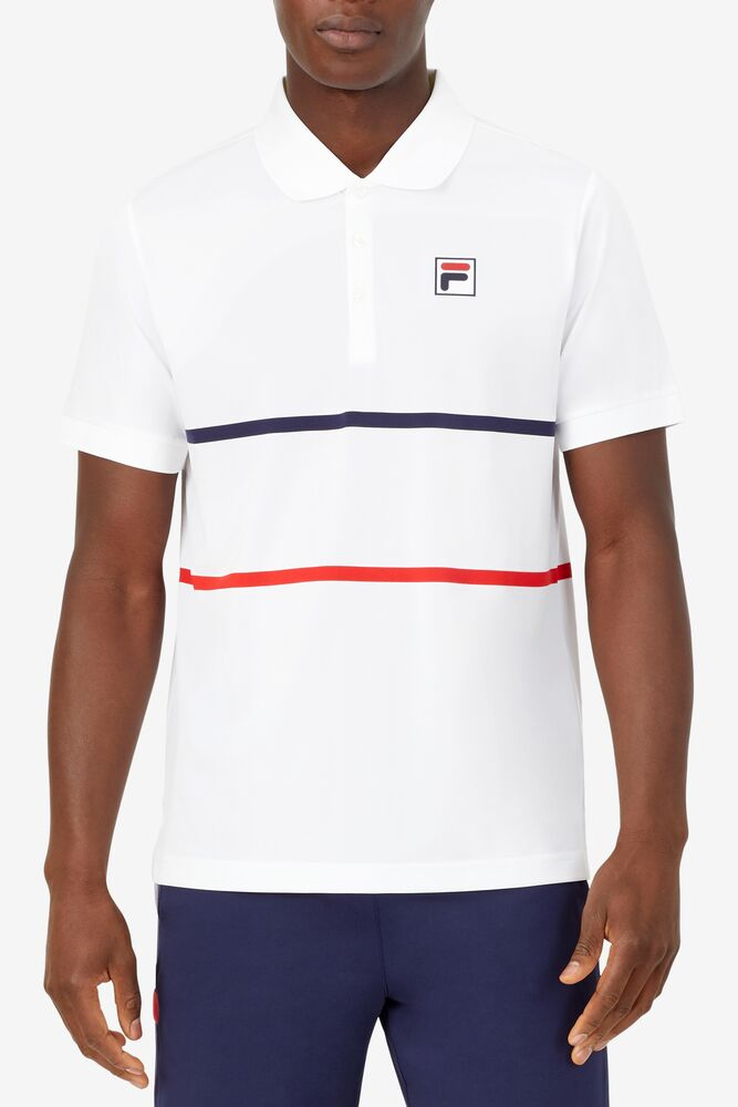 HERITAGE TENNIS STRIPE POLO