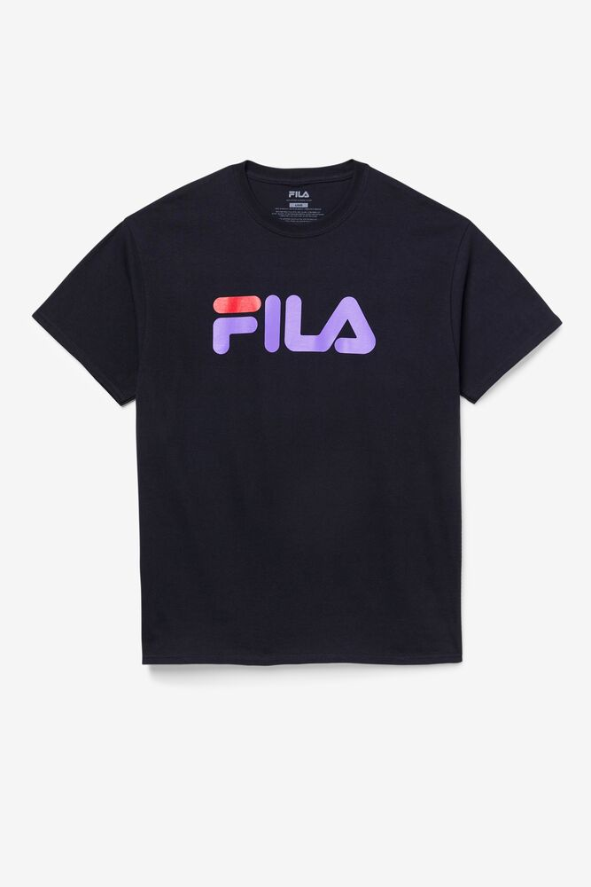 Men's FILA Logo Tee in webimage-16EDF0C7-89E9-4B76-AF680D327C32E48E