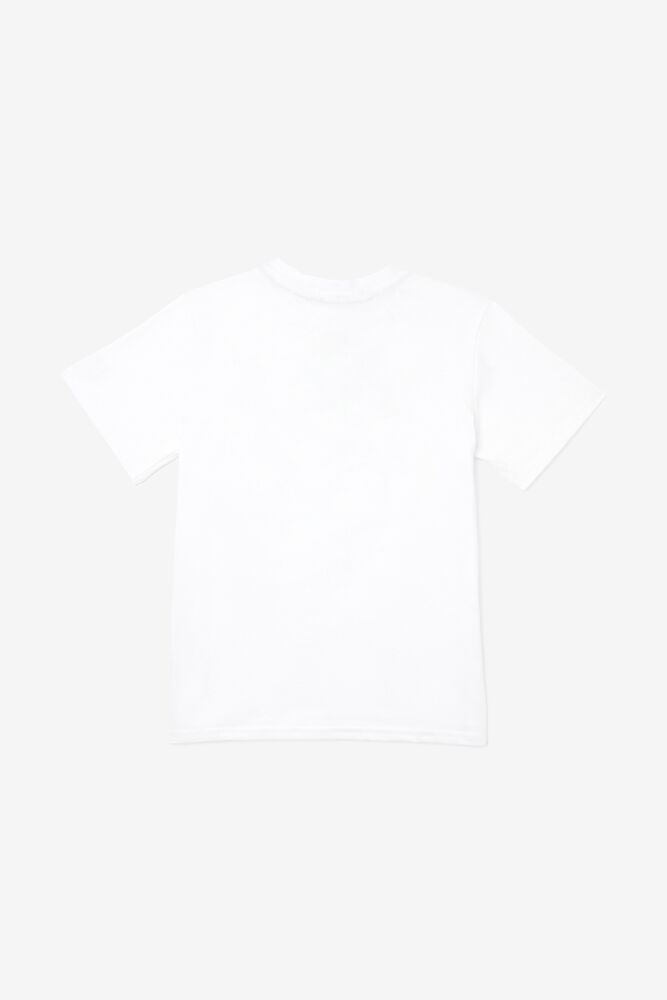 Kids' 3D Logo Tee in white