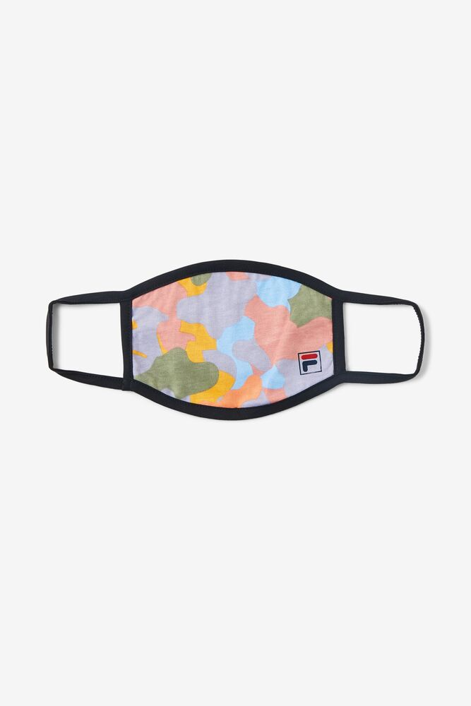 Light Multicolor Cloth Face Mask FILA.com exclusive in webimage-BC06E6D8-3FDE-41D6-9D6968747BE13F9B