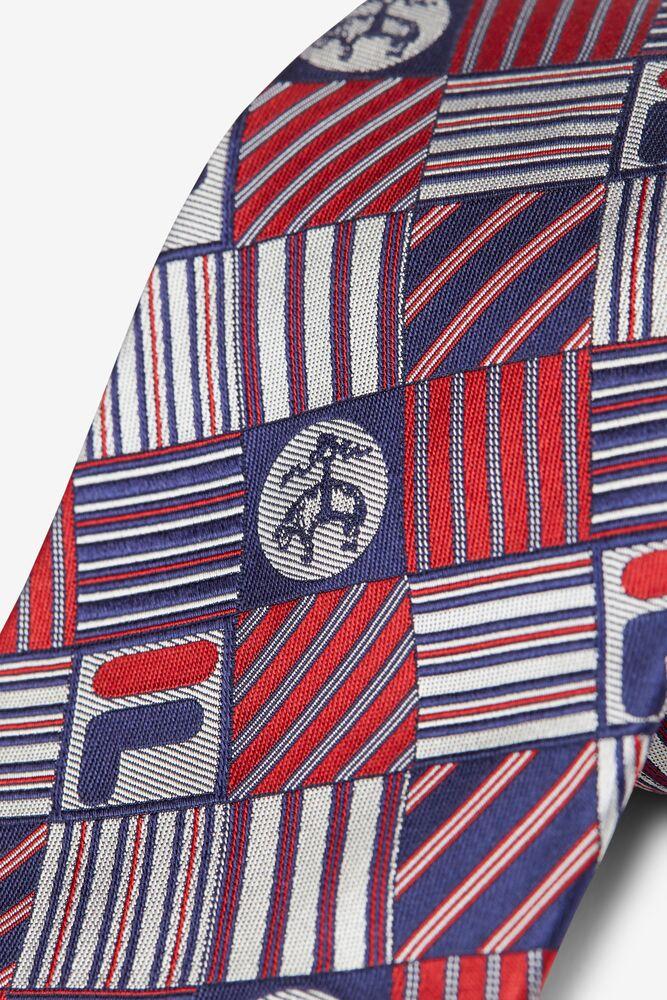 Brooks Brothers x FILA Pro Patchwork Tie in webimage-8F0326A2-F58E-4563-86D1C5CA5BC3B430