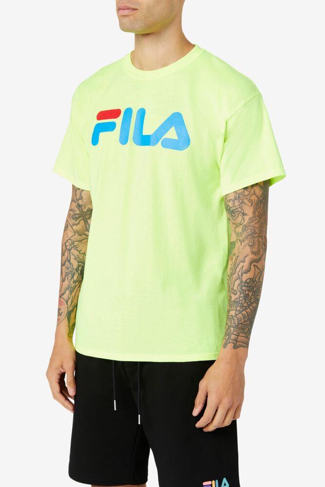 Men's FILA Logo Tee in webimage-C04E1E29-EF0A-4931-BCD0404FC2EC67B5